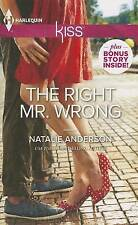 The Right Mr. Wrong (Harlequin Kiss)-ExLibrary