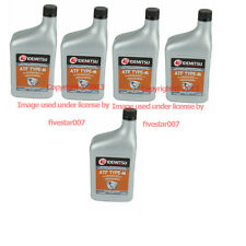 5 Quarts Pack ATF Type-M Automatic Transmission oil Fluid Set TYPEM for Mazda