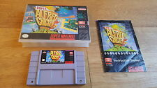 Super Alfred Chicken us-versión snes super nintendo NTSC