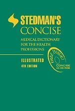 G, Stedman's Concise Medical Dictionary for the Health Professions: Illustrated