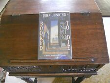 BOOKED TO DIE, John Dunning, SIGNED 1st ed/3rd printing, 1992 HCDJ