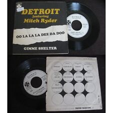 Detroit Featuring Mitch Ryder-Gimme Shelter rare French 7' Heavy Psych R&B