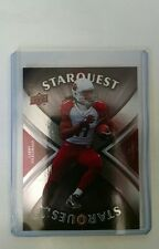 2008 Upper Deck Larry Fitzgerald #SQ-20 StarQuest Card Arizona Cardinals