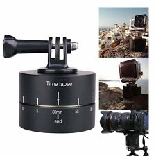 360 Degrees Panning Rotating Time Lapse Stabilizer for GoPro Camera Mobile