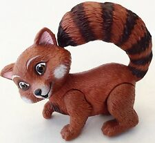 Woodland Racoon Barbie Family Dollhouse Posable Animal Figure Cake Topper