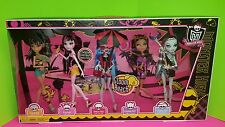 Monster High Gloom Beach 5 Pack Cleo Draculaura Ghoulia Clawdeen Frankie New