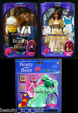 Beauty and the Beast Prince Belle Disney Classics Doll Library Fashion Green