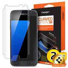 Spigen [Curved Crystal HD] Full Coverage Screen Protector Samsung Galaxy S7 2PK