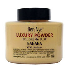 Ben Nye Luxury Banana Powder 1.5 oz Bottle Face Makeup Kim Free Shipping