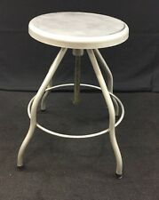 NEW Stainless Steel Swivel Exam Stool Adjustable Height Lab Chair Doctor