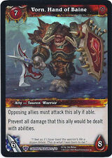 WARCRAFT WOW TCG CAVERNS OF TIME : VORN, HAND OF BAINE X 4