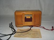 40er 50er Jahre Radio für Puppenstube mit Akkustikwiedergabe Radioschrank