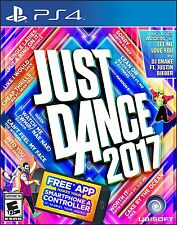 Just Dance 2017 [PS4 Playstation 4 Exclusive Songs Dance Music Region Free] NEW