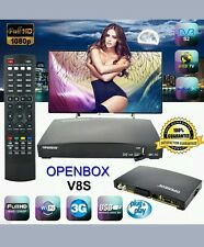 OPENBOX V8S HD WITH 36 MONTH FREE GIFT PLUG AND PLAY