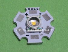 Cree XLAMP XR-E Q5 LED Warm White Chip 300LM& 20mm Star Base for DIY