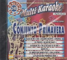 Conjunto Primavera Multi Karaoke New Nuevo Sealed