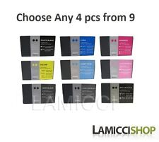 4 Color selection Epson Stylus 7800 9800 Compatible Cartridges 220ml Pigment ink