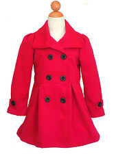MADE IN USA Girls Fall, Winter Christmas Dress Coat, Size: 2 to 14
