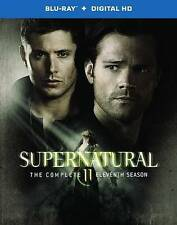 Supernatural: The Complete Eleventh Season (Blu-ray Disc, 2016, 4-Disc Set) NEW