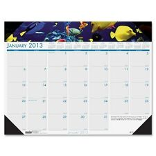 House of Doolittle 2017 Sea Life Photographic Monthly Desk Pad Calendar - 1936
