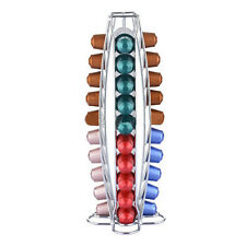 40 pcs Coffee Pods Holders Rack Stand Tower Capsule Dispenser for Nespresso