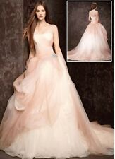 Vera Wang Ombre Tulle Wedding Dress Size 4