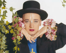 Boy George UNSIGNED photo - H240 - Grammy and Brit Award winner