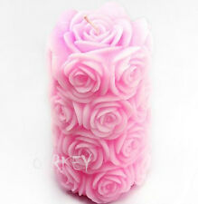 BIG Roses S252 Silicone Soap mold Craft Molds DIY Handmade Candle Mold