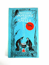 RARE Witches Potions and Spells BOOK Paulsen vtg dark magic Occult Witchcraft