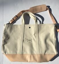 NWOT Steele Canvas Basket Corp. For J Crew Coal Bag $148