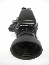 Mamiya 645 Pro TL Complete Kit with AE Prism Finder, 80MM F2.8 'N', Pro 120 Mag