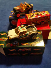 2002 Holiday Exclusive Hot Wheels Frosty's Cool Cruisers 3 Car Gift Set - OPEN -