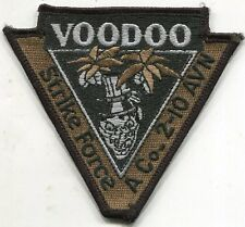 US Army Voodoo Strike Force A Co-2-10 AVN TAN Patch