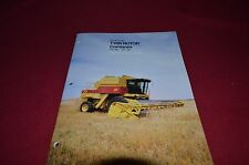 New Holland TR86 TR96 Twin Rotor Small Grain Combine Dealer's Brochure