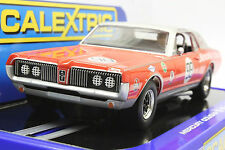 SCALEXTRIC C3418 MERCURY COUGAR TRANS AM 67' DAN GURNEY 1ST DPR 1/32 SLOT CAR