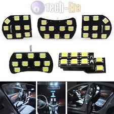 White 44-SMD LED Interior Lights Package For Chevy Cruze Map Dome Trunk Lights