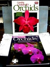 Lot of 2 ORTHO ORCHIDS Books Complete Guide All About American Orchid Society