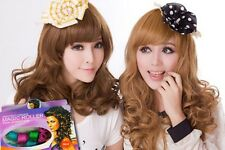 DIY Hair Styling Curler Curl Former Curlformer Perm Perming Set (Snail/Flower)