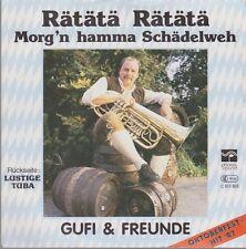 """7"""" Gufi & Freunde Rätätä Rätätä Morg`n hamma Schädelweh (Wies`n Hit 1987)"""