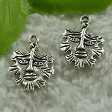 free ship 120 pcs tibet silver man charms 21x15mm #2933