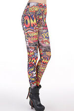mydearlover casual Up Comic Leggings fashion Women full length LC79421
