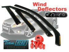 Ford Focus MK III 2011- Wind Deflectors 4 pcs 4/5Doors HTB/SEDAN HEKO (15295)NEW