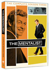 DVD:THE MENTALIST - SEASON 3 - NEW Region 2 UK
