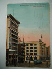 Holdenblock & The B C E R Depot Vancouver BC 1920s Shows Tram Old Postcard