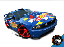 Hot Wheels Cars - Custom '12 Ford Mustang Blue