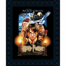 Harry Potter fabric Panel Licensed Fabric Camelot Fabrics digitally printed