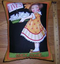 New Mary Engelbreit LIVES, GET ONE + MISTAKES... Pillow   Handmade in the U.S.A.