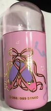 Vintage Sanrio Hello Kitty Pink Ballet Slippers Trinket Box Travel Container 80s