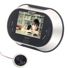 "3.5"" LCD Visual Monitor Door Peephole Peep Hole Wireless Viewer Camera Video US"