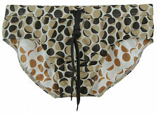 DOLCE & GABBANA Men's Multi-Color Printed Swim Briefs Q00104 Size M/5 NWOT $329